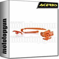ACERBIS 0022349 KIT PASSACATENA ARANCIO KTM EXC 300 TPI 2018 18 2019 19 2020 20