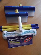 AquaBlade® Fensterwischer  Abzieher mit hochwertigem Silikon - Wischblatt