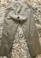 Men's Marks and Spencer Autograph Trousers Waist 36' L31'Khakhi