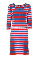 Damen Kleid KangaROOS Sommerkleid Freizeitkleid NEU blau rot Größe 36 38