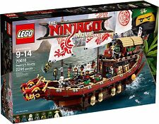 LEGO THE NINJAGO MOVIE 70618 VASCELLO DEL DESTINO NUOVO DISPONIBILE