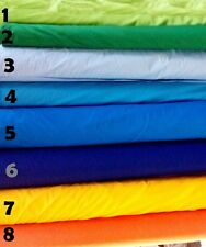 BROADCLOTH APPAREL FABRIC SOLID COTTON POLYESTER BLEND 60