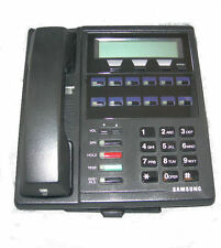 5 Refurbished Samsung DCS 12 button LCD Phones, Charcoal (Black), 50 Available