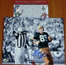 GREEN BAY PACKERS Max McGee Signed Autographed Super Bowl TD 8x10 PHOTO COA HOLO