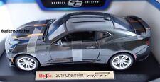 NEW MAISTO 1:18 Special Edition - 2017 Chevrolet Camaro FIFTY in Grey - RARE