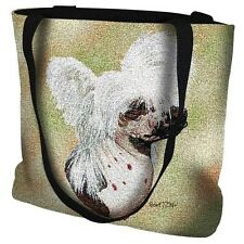 Woven Tote Bag - Chinese Crested 5668