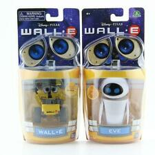 Wall-E & Eve 2 Pack Mini Robot Movable Action Figures Toy Gift For Kids Boy Girl