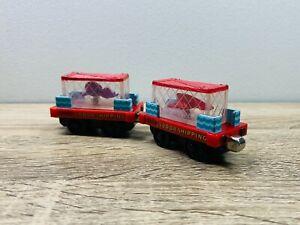 Sea Cargo Car x2 Lobster Octopus - Thomas Take N Play/Take Along Diecast Trains