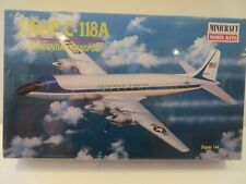 Minicraft 1/144 scale USAF C-118A Presidential Transport