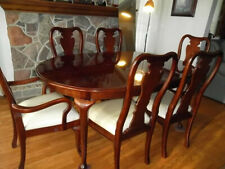 Classic Eighteenth-centrury Cherry Dining Room for today homes