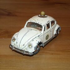 Corgi 492 VW 1200 European Dutch Police Car White Politie Original Model (09212)
