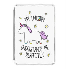 "LILA MI UNICORNIO Entiende ME CASE Funda para Kindle 6"" E-Reader - Divertido"