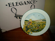 The Heathland Yellowhammer by Kenneth J Wood 1990 - Gorgeous Collectors Plate