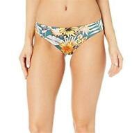 The Bikini Lab 243050 Womens Hipster Bikini Bottom Swimwear Dark Teal Size Large