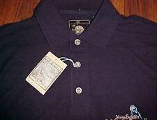 Jimmy Buffett Margaritaville Las Vegas Men's Black Cotton Golf Polo Shirt S New