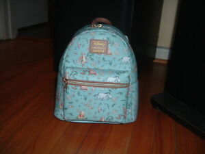 LOUNGEFLY DISNEY POOH & FRIENDS DAISIES MINI BACKPACK~ WITH TAGS~BRAND NEW~