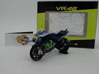 Minichamps 182163246 - Yamaha YZR-M1 No.46 MotoGP Catalunya 2016 V.Rossi 1:18