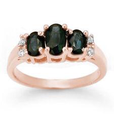 1.33 CTW Blue Sapphire & Diamond Ring 14K White Gold - REF-34N5Y - 1... Lot 3573