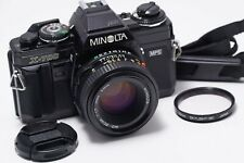 Minolta X-700 with MD 50mm 1.7 ====Overhauled and cleaned====