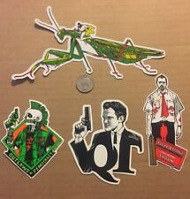 Tyler Stout New Sticker Set of 4 different hard to get stickers Sold Out Set 4