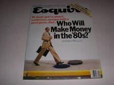 Vintage Esquire, September, 1980, Vladimir Nabokov, Richard Nixon!