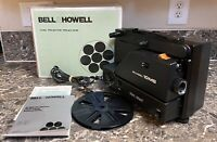 Bell & Howell 10MS Vintage Super 8 Projector Cord Reel Manual Parts Repair Only