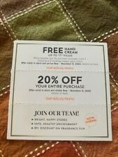 Bath & Body Works Coupons -Gift + 20% off  Store/Online Exp 11/8