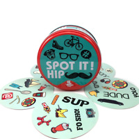 Dobble Hipster Spot it Fun Card Game Indoor Family Adult Christmas Birthday Gift