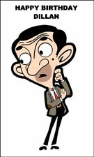 A5 MR BEAN TV STAREDIBLE ICING BIRTHDAY CAKE TOPPER