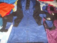 The North Face Mountain Light Parka Gore-tex Jacket Coat Blue Men's Large TNF