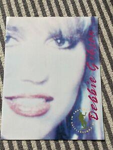 Debbie Gibson Tour Programme 2 Rare