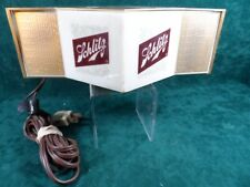 Vintage Schlitz Beer Sign Lighted Cord Light Sign Needs Bulb WOW!