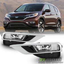 For 15-16 Honda CR-V CRV Fog Lights Bumper Lamps +Switch Left+Right 2015-2016