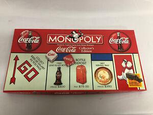 Coca Cola Monopoly Board Game Collector's Edition 1999