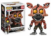 Funko POP! Five Nights At Freddy's: Nightmare Foxy - Vinyl Figure 214 NEW