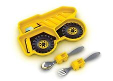 Dump Truck Me Time 3 Piece Meal Set, NEW by Funwares