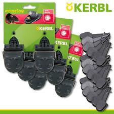 Kerbl 3x 2 Pièce Pièges à Souris Haut de la + 3x 6 Ersatzköder Keller Garage