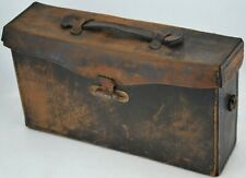 Antique Leather Camera Case with Focusing Cloth Dark Cloth Hood for photographer