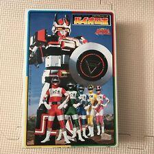 Power Rangers Choudenshi Bioman Baiorobo Bandai Toei Plastic Model Kits 1/400