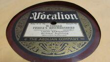 LUCIE BERNARDO VOCALION 78 RPM RECORD 10022 FRIEDA'S ABSCHIEDSBRIFF
