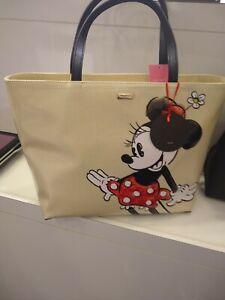 Kate Spade X Minnie Mouse Francis Disney Handbag/Tote Zip Top WKRU6607 NWT