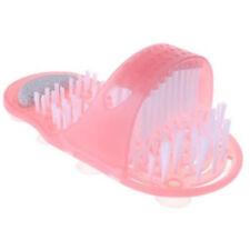 Pink Foot Gift Shower Feet Cleaner Scrubber Bath Brush Bristle Massager GN