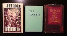 1977 THE SILMARILLION 1st Printing plus Hobbit (1966) and Return King (1965)