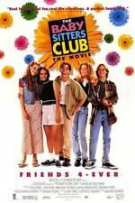 THE BABY-SITTERS CLUB Movie POSTER 11x17 Schuyler Fisk Bre Blair Rachael Leigh