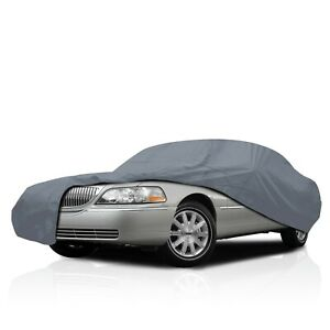 Semi Custom Fit Car Cover for Geo Prizm 1989-1992 UV Protection Water Resistant