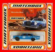 MATCHBOX 2021  ´62 MERCEDES-BENZ 220 SE   43/100   NEU&OVP