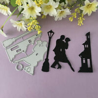 Couple lighthouse Design Metal Cutting Die For DIY Scrapbooking Album Paper D7