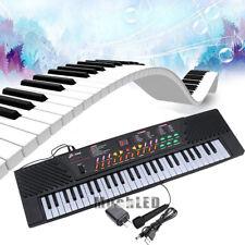 Digital Music Piano Keyboard 54 Key Portable Electronic Musical Instrument Gift