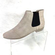 Clarks Sumerset Women's Ankle Boots Beige  Suede Croc Prints UK Size 6.5D US 9