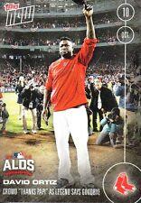 "2016 - David Ortiz, Boston Red Sox - ""Thanks Papi"" - Topps Now #564A -  Rare"